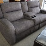 New Power Upholstered Recliner Sofa