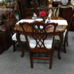 Cherry D/R Table W/4 Chairs