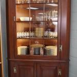 Hinkel Harris Cherry Corner Cabinet