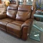 NEW Leather Power Recliner Sofa