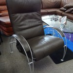 Lafer Leather Recliner Chair
