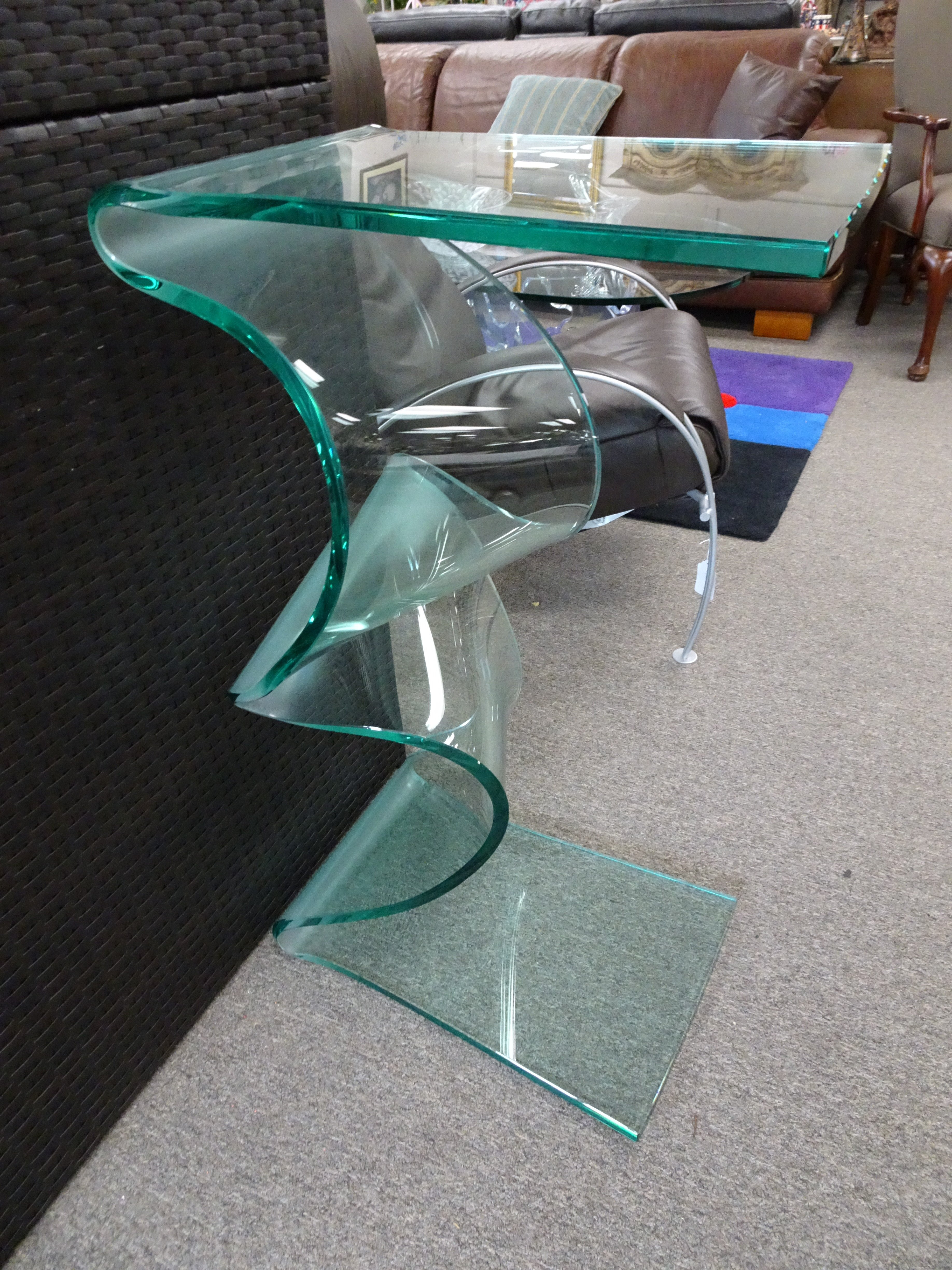 Art Glass Table