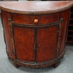 """Painted """"Tin"""" Cabinet"""