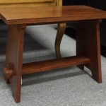 Stickley Oak Bench