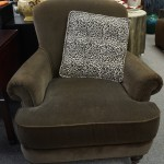 Mohair Upholstered Chair