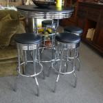 Small Pub Table & 4 Stools