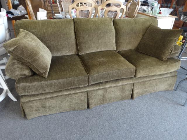 Microfiber Plunkett Sofa