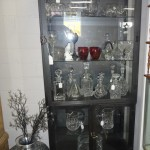 Curio Cabinets With DecorativeItems