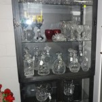 Meatal & Glass Display Cabinet